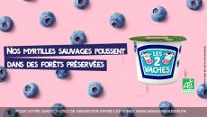 Les 2 Vaches sur fidme, des yaourts aux recettes fruitées !